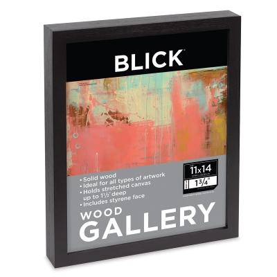 Wood Gallery Frame, Black