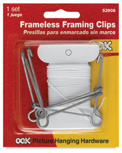 Ook Frameless Framing Clips Blick Art Materials