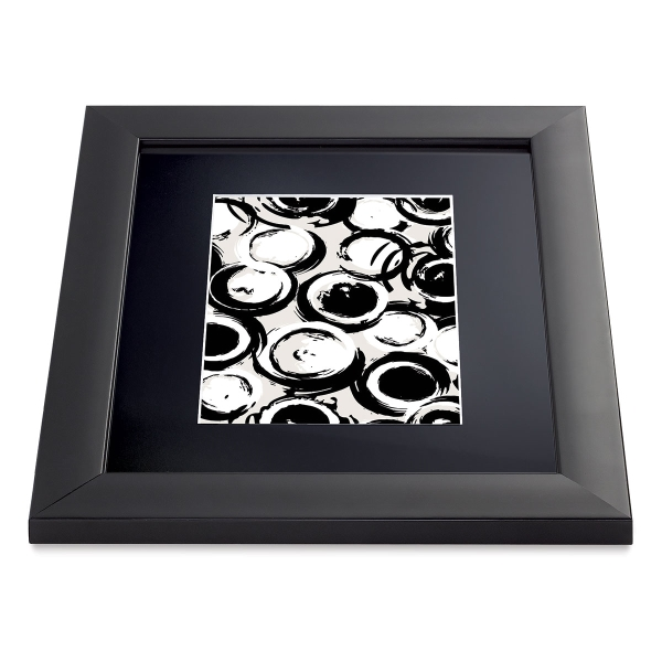 """Sheffield Frame, Black, 8"""" × 10"""" with 5"""" × 7"""" Opening"""