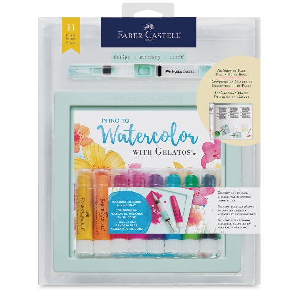 Intro to Watercolor with Gelatos, Set of 11