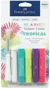 Designer Series, Tropical Colors, Set of 4