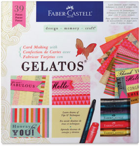 Card Making with Gelatos,  Set of 39