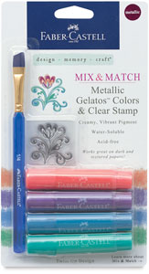 Mix & Match, Assorted Metallics, Set of 4