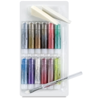 Assorted Metallics, 15-piece set