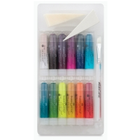 Assorted Iridescents, 15-piece set