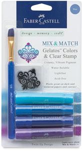Mix & Match, Assorted Blues, Set of 4
