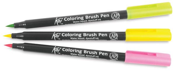 sakura koi coloring brush pen sets blick art materials