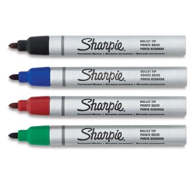 Pro Permanent Markers, Set of 4
