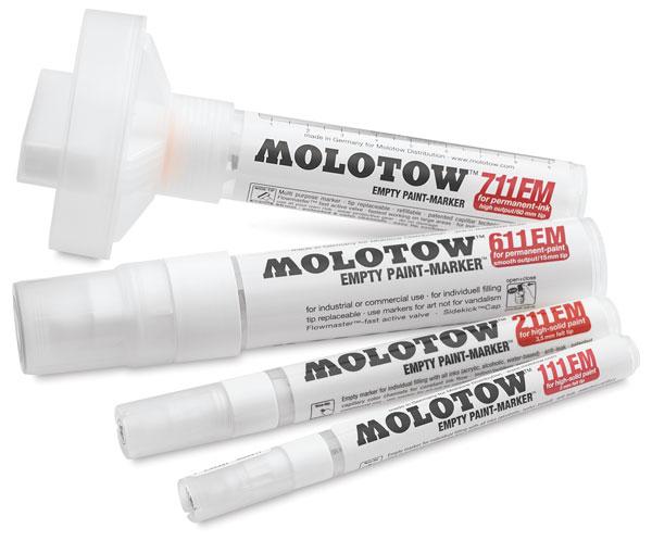 Molotow Empty Markers