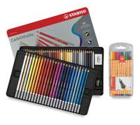 Stabilo CarbOthello Pastel Pencil Sets