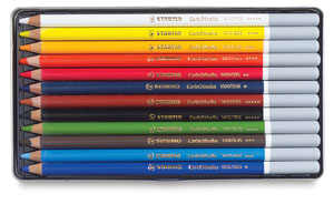 Pastel Pencils, Set of 12