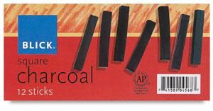 Charcoal, Set of 12