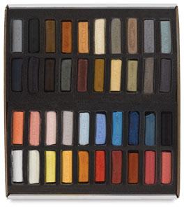 Portrait Colors, Set of 40, Half-Sticks