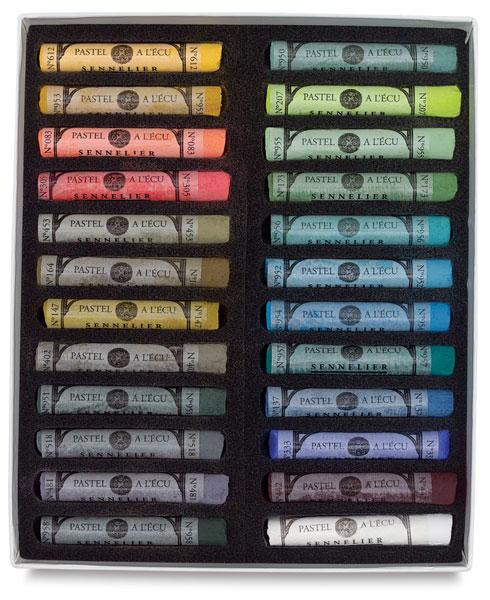 Landscape Colors, Set of 24, Full Sticks