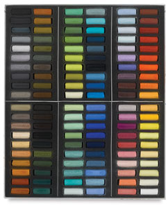 Set of 120 Paris Colors Half-Sticks