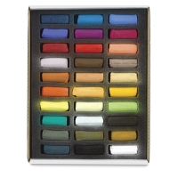 Assorted Colors, Set of 30, Half-Sticks