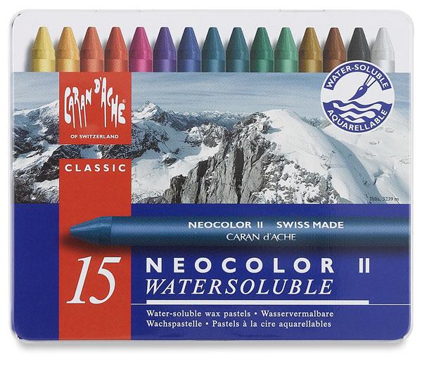 caran d ache neocolor ii artists crayons blick art materials