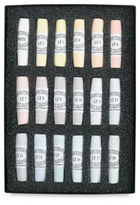 Set of 18, Light Colors