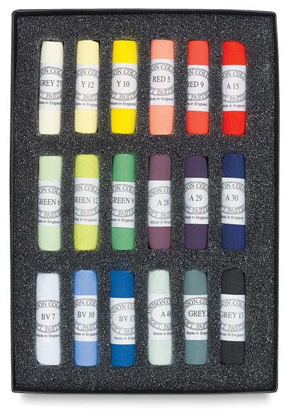 Set of 18, Starter Colors