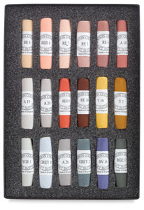 Set of 18, Portrait Colors