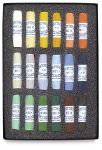 Set of 18, Landscape Colors