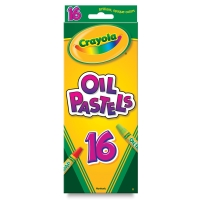 Oil Pastels, Set of 16 Colors