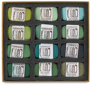 Green Colors, Set of 12