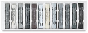 Gray Tones, Set of 12