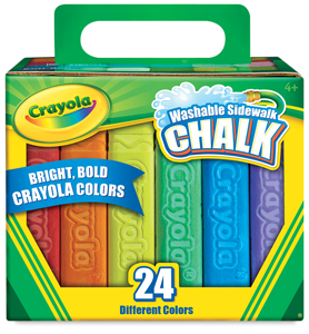 Sidewalk Chalk, Set of 24