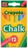Crayola Multi-Colored Chalk, Set of 12