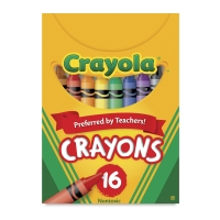 Regular Crayon Set, Set of 16