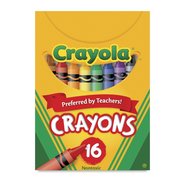 Regular Crayon Set, Set of 16