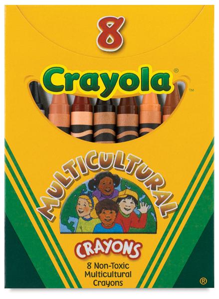 crayola multicultural crayons blick art materials