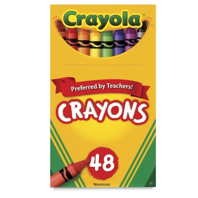 Regular Crayon Set, Set of 48