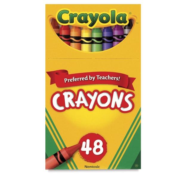Regular Crayon Set, Set of 48