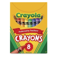 Regular Crayon Set, Set of 8