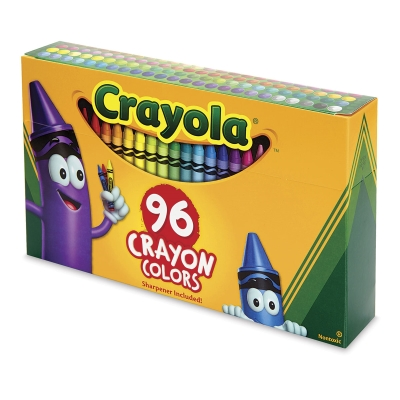 Regular Crayon Set, Set of 96