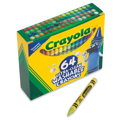 Set of 64, Regular Crayons