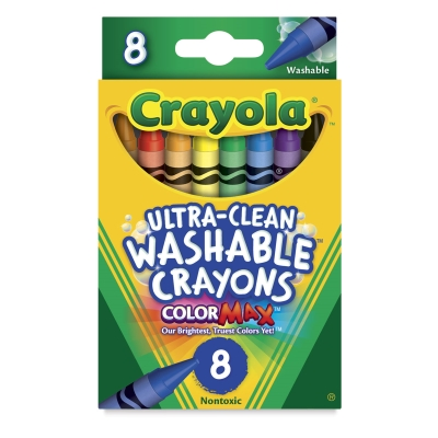 Set of 8, Regular Crayons