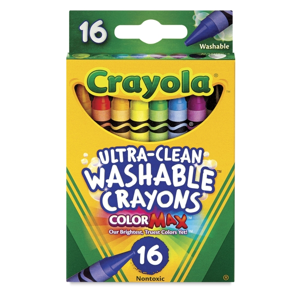 Set of 16, Regular Crayons