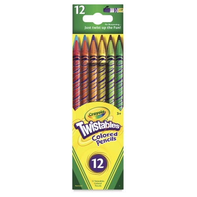 Twistables Colored Pencils, Set of 12