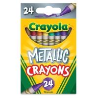 Metallic FX Crayons, Pkg of 24