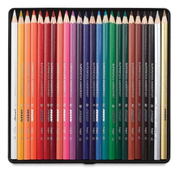 Superstick Colored Pencils, Set of 24