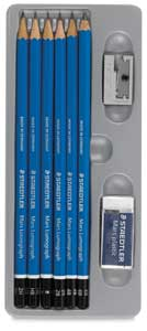 Staedtler Mars Lumograph Drawing Set