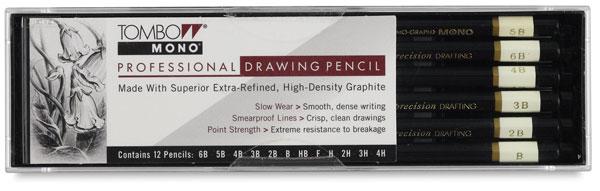 Drawing Pencils, Set of 12