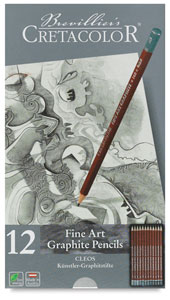 Graphite Pencils, Set of 12