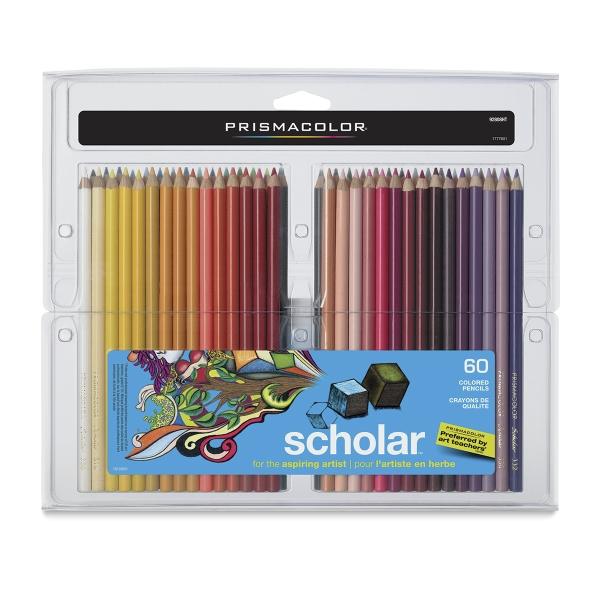Scholar Art Pencils, Set of 60