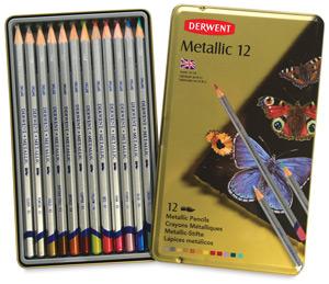 Metallic Pencils, Set of 12