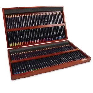 Set of 72 Colors, Wood Box