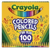 Colored Pencils, Set of 100